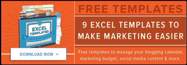 plantillas de Excel gratuitas para su comercialización