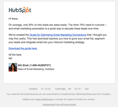 """Lead Nurture Email """"title ="""" Screen_Shot_2015- 05-06_at_10.12.10_AM.png """"width ="""" 411 """"style ="""" margin-left: auto; margin-right: auto"""