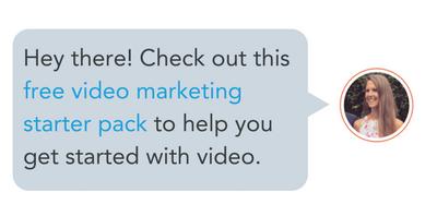 paquete de inicio de marketing de video