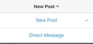 """Nueva publicación o mensaje directo.png """"title ="""" Nueva publicación o mensaje directo.png """"width ="""" 300 """"style ="""" width : 300px"""