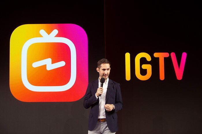 Instagram lanza IGTV, permitiendo a los usuarios subir videos de una hora de duración