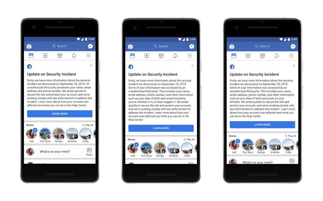 Nuevos detalles han surgido en el ataque de datos de Facebook. Aquí está lo que necesitas saber.  – Veeme Media Marketing