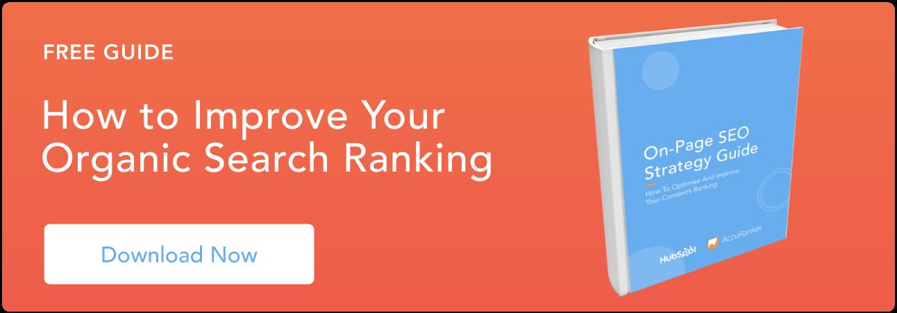 Mejore su ranking de búsqueda orgánica
