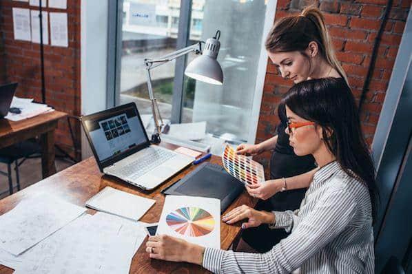 Su guía de colores: la teoría del color, la rueda de colores y cómo elegir un esquema de color  – Veeme Media Marketing