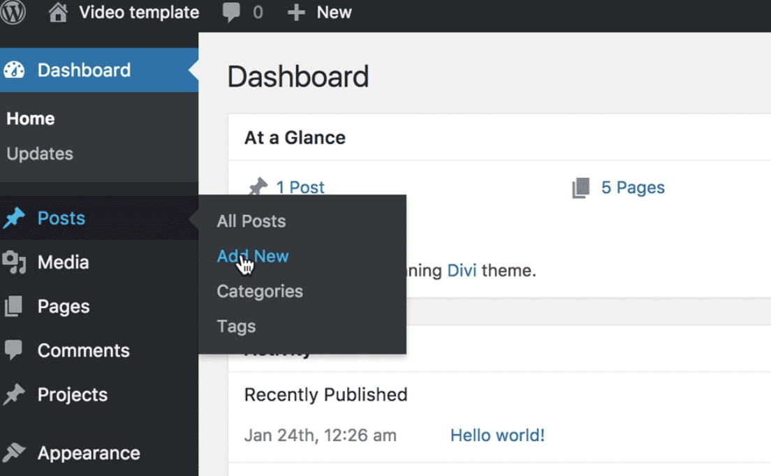 wordpress-posts-pages