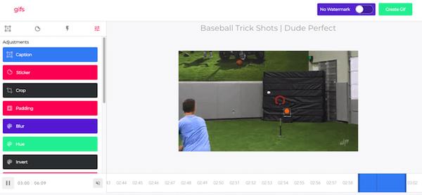 """Truco de YouTube para crear un GIF a partir de un video. """"Width ="""" 555 """"title ="""" Truco de YouTube para crear un GIF de un video. """"Style ="""" width: 555px """"> </span></p> <p> Haga clic en"""" Crear GIF """"en la parte superior derecha y le pedirá un título GIF y un conjunto de etiquetas. Luego haga clic en"""" Siguiente """"y usted tenga una página de destino para compartir su GIF recién acuñado. Recuerde que solo puede descargar este GIF a un archivo sin conexión al registrarse en gifs.com. </p> <h3> 2. Puede crear un enlace que inicie un video de YouTube en un momento determinado. </h3> <p style="""