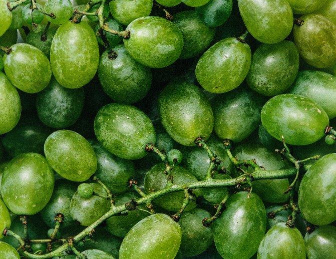Imagen de stock de Fancy Crave de uvas verdes