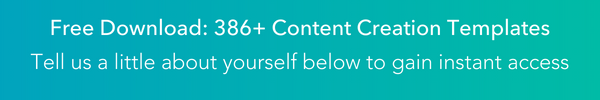 Plantillas de creación de contenido