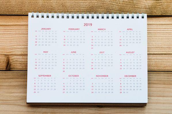 El último calendario de festividades en las redes sociales para 2019 [Template]  – Veeme Media Marketing