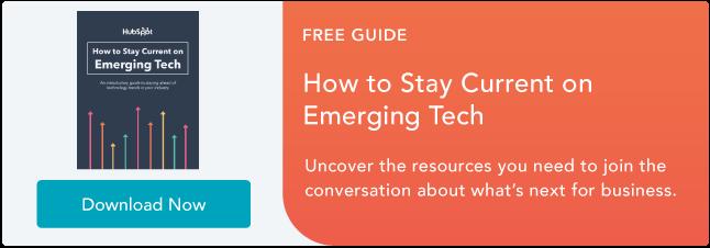 Manténgase actualizado en la tecnología emergente