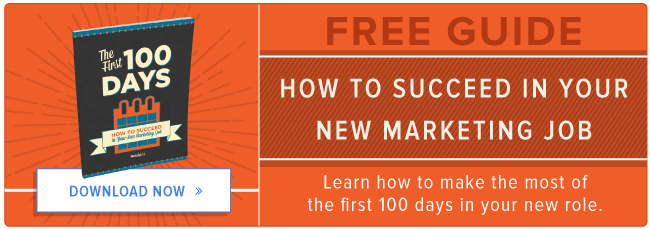 cómo tener éxito en su nuevo trabajo de marketing