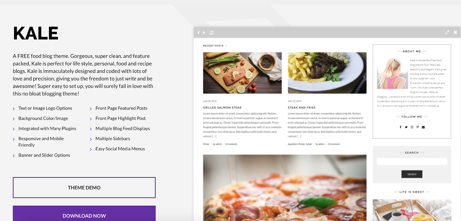 kale-wordpress-theme