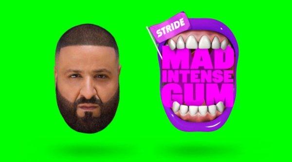 """La campaña de marketing influyente de Stride Gum con DJ Khaled """"title ="""" La campaña de marketing influyente de Stride Gum con DJ Khaled"""