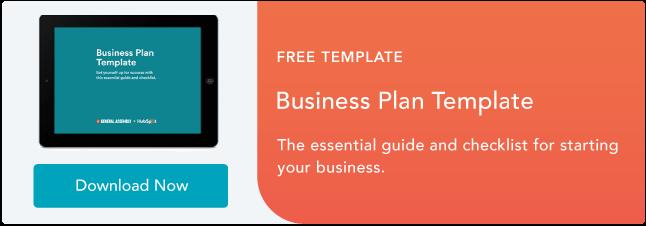 Plantilla de plan de negocios